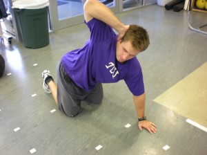 All Fours - Single Arm Rotations - Finish